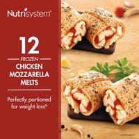 Nutrisystem Frozen Chicken Mozzarella Lunch Melt, 3.8 oz, 12 Ct