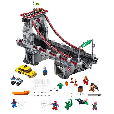 LEGO Super Heroes Spider-Man: Web Warriors Ultimate Bridge 76057 (London Bridge Lego)