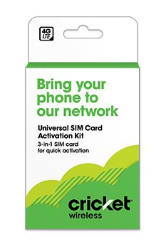 Cricket Small SIM Kit (Best Sim To Use In Europe)