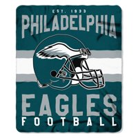 "NFL Philadelphia Eagles ""Singular"" 50"" x 60"" Fleece Throw"