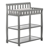Dream On Me 2-in-1 Ashton Changing Table, Steel Gray