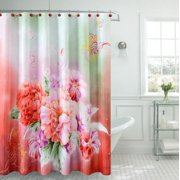 Fancy Carnation Shower Curtain