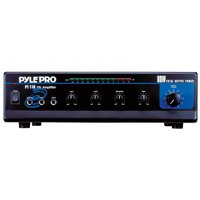 Pyle 80 WATT AC/DC Microphone PA Mono Amplifier w/ 70V Output & Mic Talkover