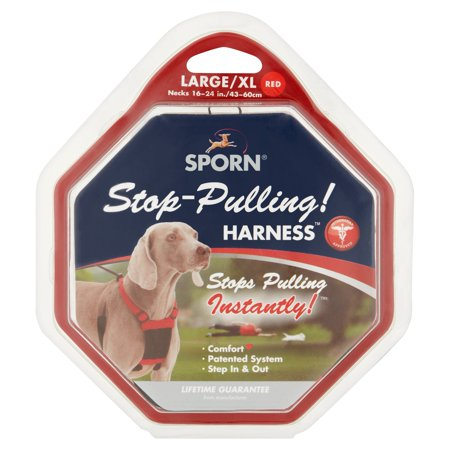 Sporn Stop-Pulling! Red Large/XL (Agitation Harness)