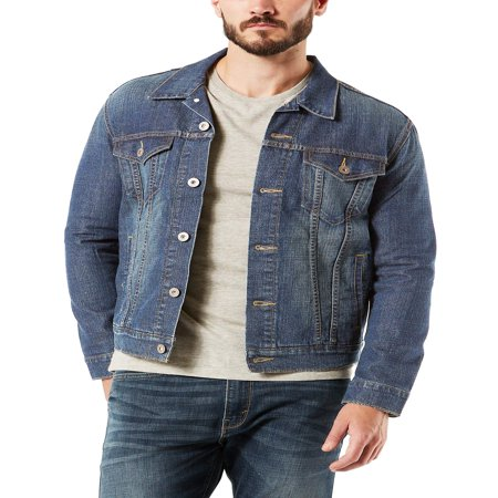 Signature by levi strauss & co. Men's Trucker Jacket - Steampunk Jacket Mens