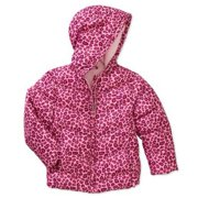 11d72226c Healthtex Infant Girls Pink Leopard Print Winter Coat Bubble Puffer Jacket  18m