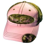 Camo Cutie Cap Womens Realtree Camo Cap with pink front and camo logo  Plus Free Decal