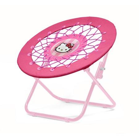 Sanrio Hello Kitty Pink Canvas Folding Soft Web Chair ()