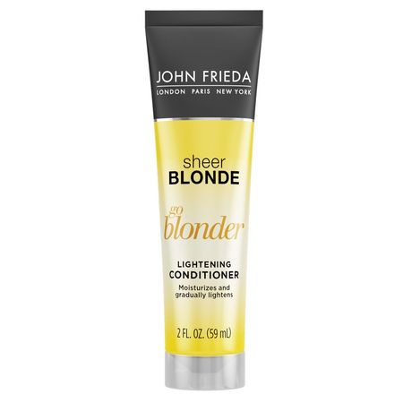 John Frieda Sheer Blonde Go Blonder Lightening Conditioner, 8.3 Fl Oz](Ava Blonde)
