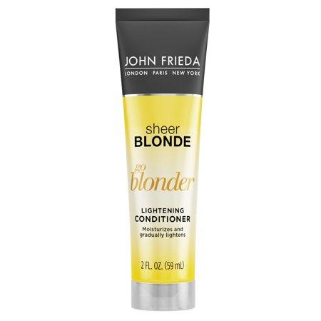 John Frieda Sheer Blonde Go Blonder Lightening Conditioner, 8.3 Fl Oz - Blonde Goatee