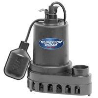 Superior Pump 1/2 HP Sump Pump
