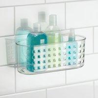 InterDesign Suction Bathroom Shower Caddy Basket
