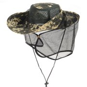 6dc766c03377d WITHMOONS Boonie Bush Hat Wide Brim Camouflage Side Snap Rivets DW8766  (Green)