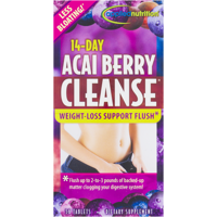 Applied Nutrition 14 Day Acai Berry Cleanse Tablets, 56 Ct