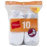 Women's No Show Socks, White