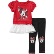 8fead33d99d Toddler Girl Knit Tunic and Legging Outfit Set
