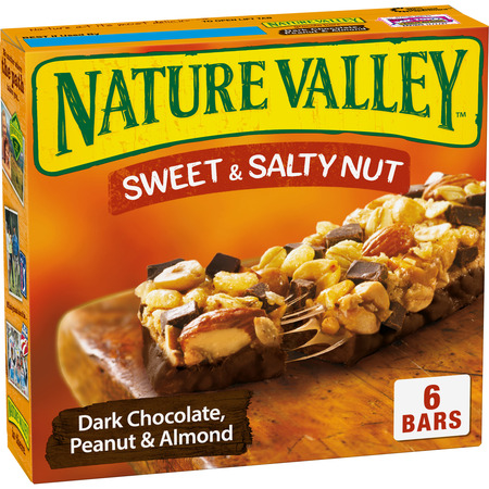 Nature Valley Granola Bars Sweet & Salty Nut Dark Choc Peanut & Almond (Bar Strawberry Nut)