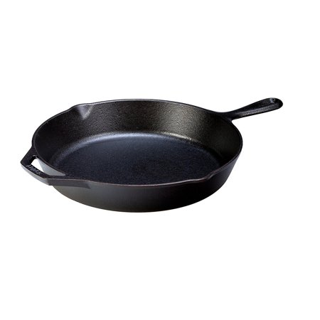 Lodge 12-inch Cast Iron Skillet with Silicone Handle
