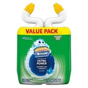 Scrubbing Bubbles Extra Power Toilet Bowl Cleaner, Rainshower, 24 Ounces, 2 count