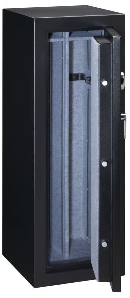 Stack-On 14 Gun Fire Resistant Security Safe with Electronic Lock FS-14-MB-E, Matte Black