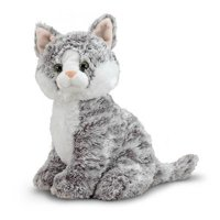 Melissa & Doug Greycie Tabby Cat Stuffed Animal