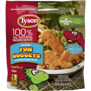 Tyson® Fully Cooked Fun Nuggets with Whole Grain Breading, 29 oz. (Frozen)