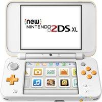 New Nintendo 2DS XL - White & Orange, JANSOAAB
