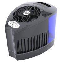 vornado evap3 whole room evaporative humidifier, black