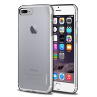 Insten Transparent TPU Gel Rubber Slim Case For Apple iPhone 8 Plus / iPhone 7 Plus - Clear