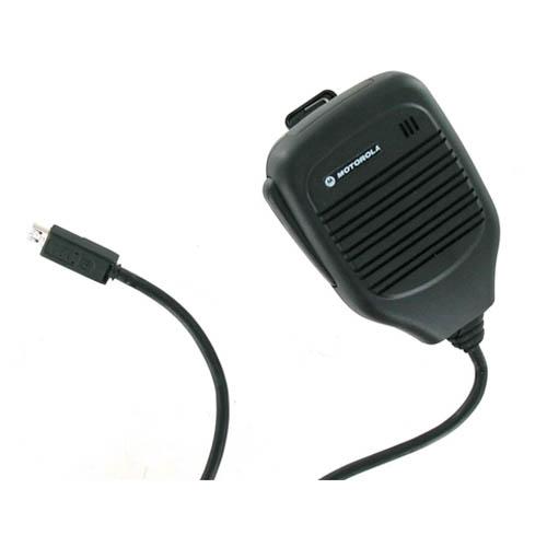 OEM Motorola microUSB RSM Remote Speaker / Shoulder Mic / Car Speaker SJYN0308A (Bulk Packaging)