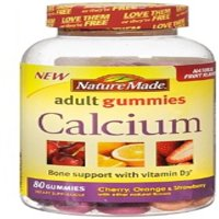 Nature Made Calcium Adult Gummies, 80 Ct