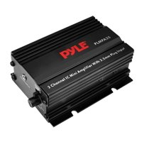 PYLE PLMPA35 - Dual Channel Mini Portable Stereo- Receiver Box - 300 Watt Rack Mount Audio Speaker Power Amplifier System w/ 3.5mm Input - Enjoy Amplified Sound for Your Home Entertainment System