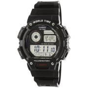 3fffc7a7a Casio Men's Classic Digital World Time Watch, Black - AE1400WH-1AV