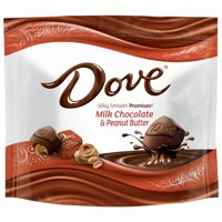 Dove Promises, Peanut Butter And Milk Chocolate Candy, 7.61 Oz