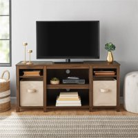 "Mainstays Parson Cubby TV Stand, for TVs up to 50"", Multiple Finishes"