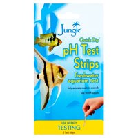 Jungle Quick Dip pH Freshwater Testing Strips, 5-Count
