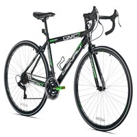 "GMC 19"" 700c Adult, Denali Road Bike, Black/Green"