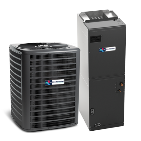 Direct Comfort 3 Ton 16 SEER 2 STAGE AC R410A Air Conditioner and Coil (Air Conditioner 2 Ton 5 Star Price)