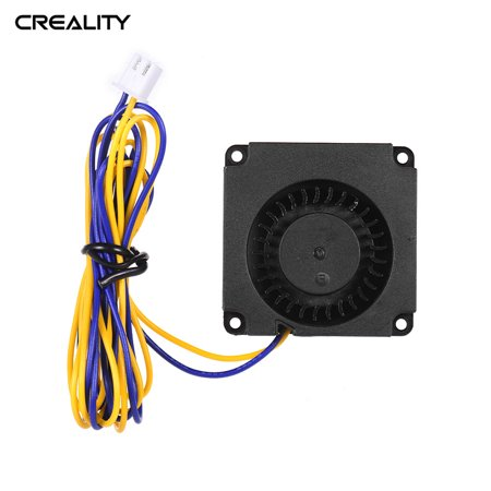 Creality 3D 4010 Brushless Blower Cooling Fan Turbo Fan 40 * 40 * 10mm 24V DC with Ball Bearing 2Pin Connector for CR-8S Ender 3 3D Printer Hotend Extruder Brushless 24v Blower Motor