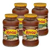 (4 Pack) Ragu Mushroom & Green Pepper Pasta Sauce 24 OZ