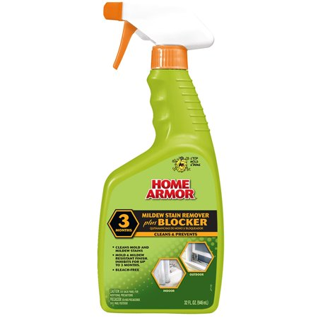 Home Armor Mildew Stain Remover Plus Blocker, Trigger Spray 32 Oz - Mildew Stain Removal