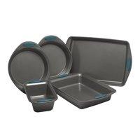 Rachael Ray Yum-o! Nonstick Oven Lovin' Bakeware Set, 5-Piece Set, Marine Blue