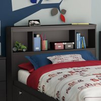 "Spark Twin 39"" Bookcase Headboard, Multiple Finishes"