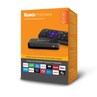 Roku Premiere Streaming Player NEW and Get 1 month free of Hulu with Live TV including Enhanced Cloud DVR and Unlimited Screens.