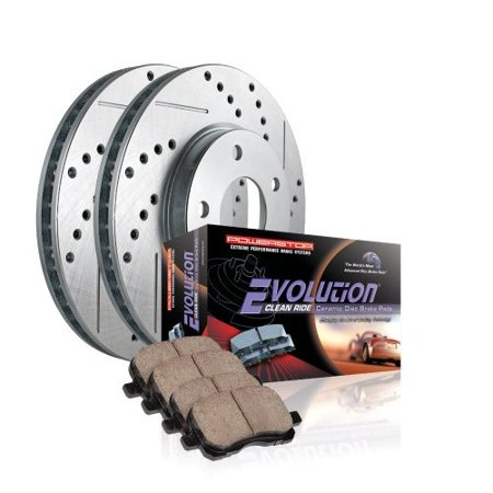 Powerstop 16-667A PSB16-667A EVOLUTION CLEAN RIDE CERAMIC BRAKE PADS