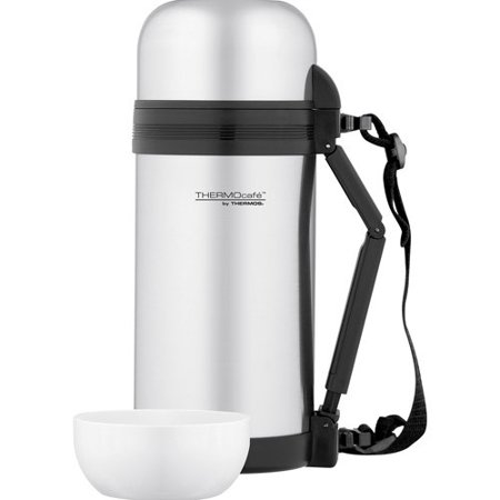 Thermos ThermoCafe Vacuum Insulated Large Food and Beverage Bottle, - Vacuum Beverage
