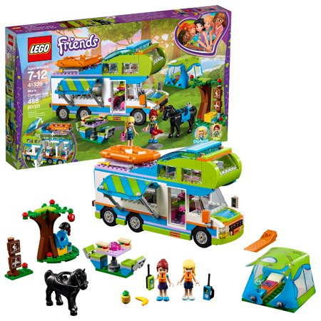 Logo Van - LEGO Friends Mia's Camper Van 41339 Building Set (488 Pieces)