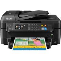 Epson WorkForce WF-2760 All-in-One Wireless Color Printer/Copier/Scanner/Fax Machine
