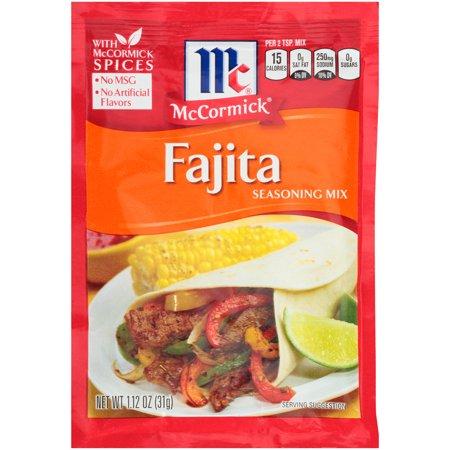 Fajita Magic - (4 Pack) McCormick Fajitas Seasoning Mix, 1.12 oz