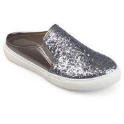 Womens Glitter Faux Leather Slide Sneakers 873a610771